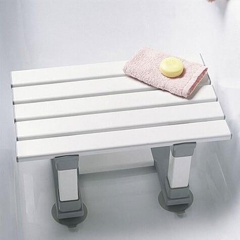 Tabouret de bain à lattes Merlin - 30 cm