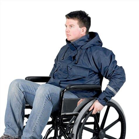 Veste pour fauteuil roulant
